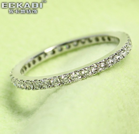 Or 18k0920EKDR Zirconium Bague (Z)