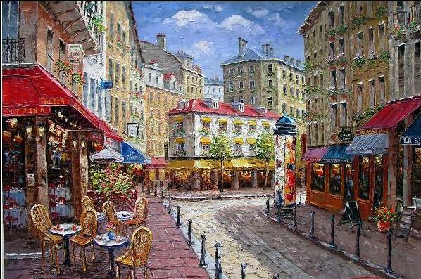 Pinturas de rua de Paris (C-01)