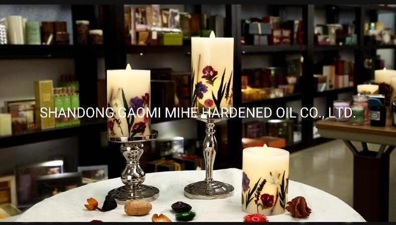 Candela domestica di lusso di telecomando LED della decorazione, candela del LED