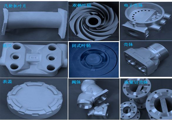 304 304L 316L 310S 309S Precision Steel Casting