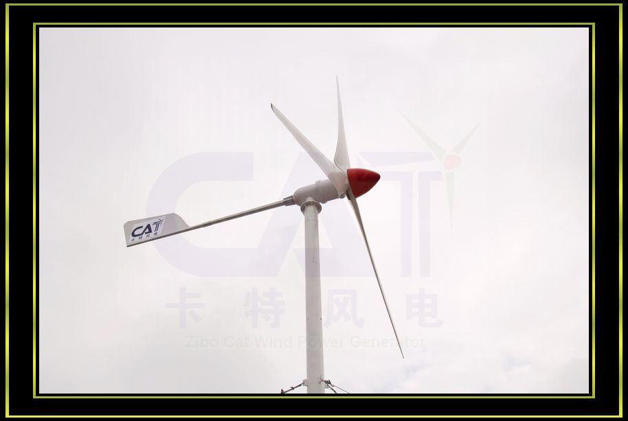 3kw 바람 터빈 발전기 (CAT-3KW)