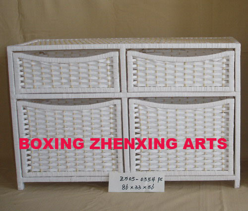 White Paper Rope Cupboard (ZX05-0554)