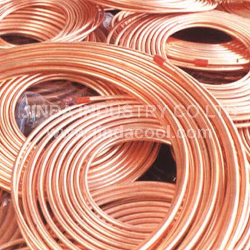 ASTM B280 Copper Tubing per Refrigeration Copper Tube