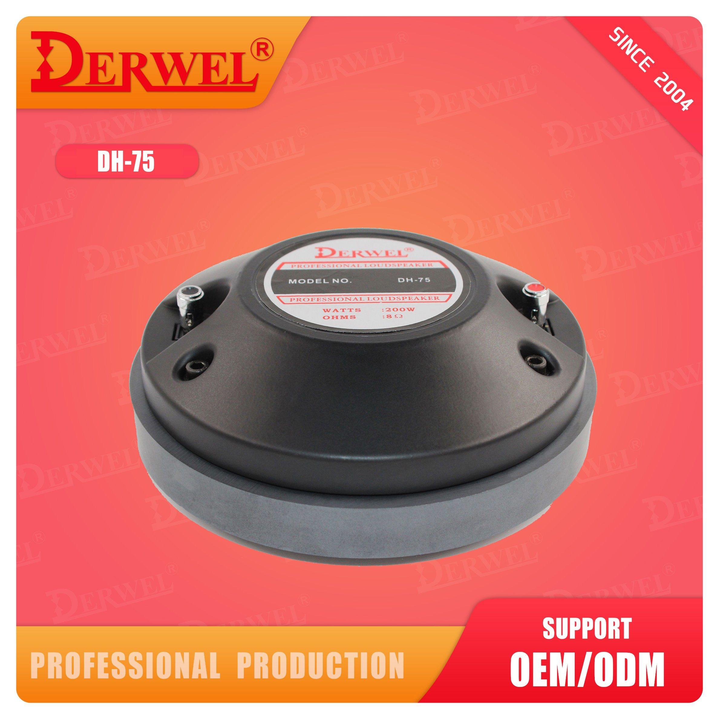 Los tweeters de bobina de voz de 3 pulgadas para el cuadro de superior calidad de sonido el controlador del altavoz de alta compresión de altavoz, Ferrit