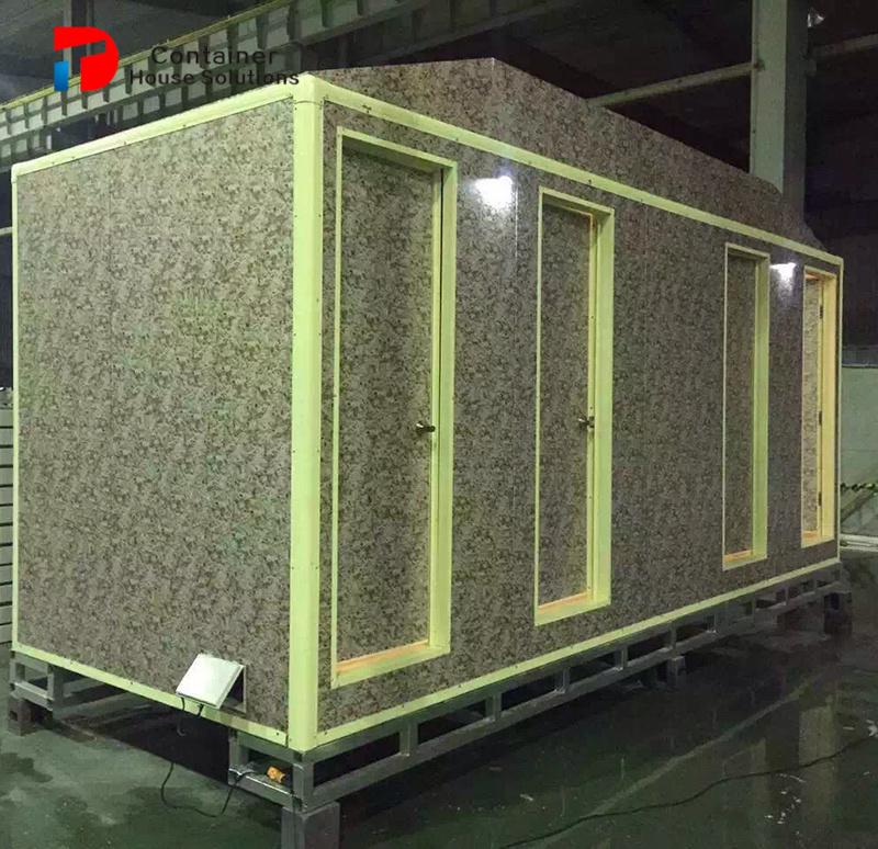 20FT het prefab Modulaire Toilet van het Huis van de Container Sanitaire Mobiele