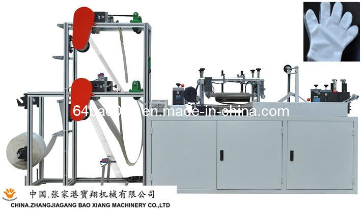 Máquina de fazer luvas para a luva plástica