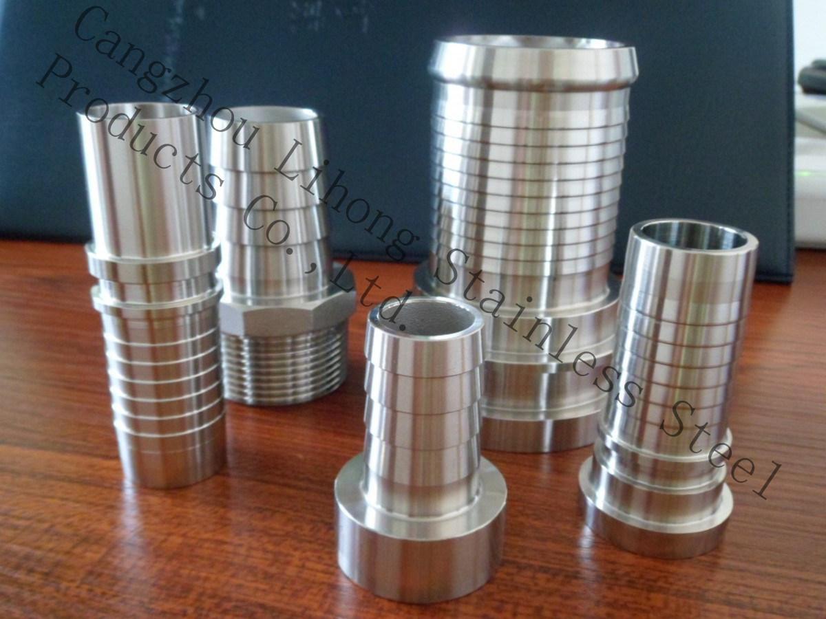 Raccordo tubo in acciaio inox nipplo tubo in acciaio inox realizzato in Cina