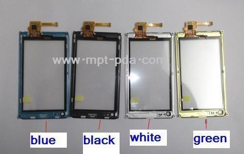 De Delen van de vervanging voor Touchscreen van Nokia N8 Becijferaar met Kader zonder Kader