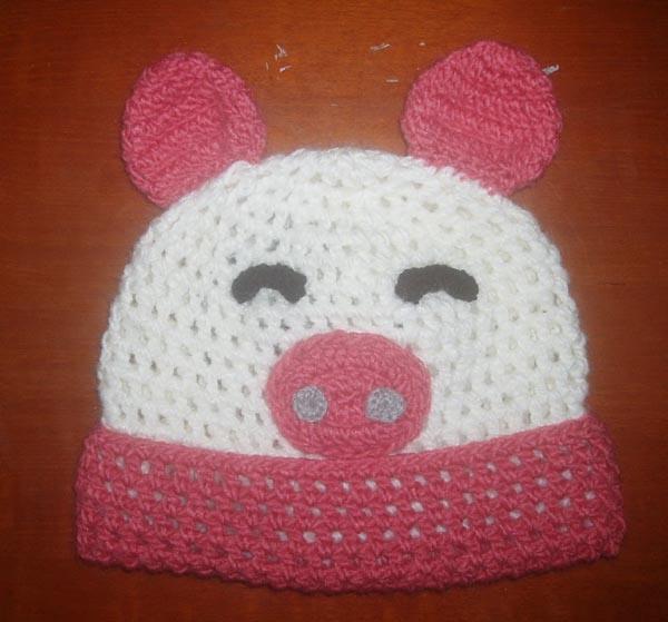 As crianças de malha Hat (Design de suínos-KK089)