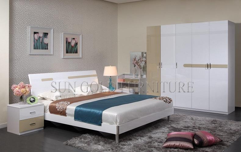 Foto de Inicio simples juegos de dormitorio del hotel con muebles ...