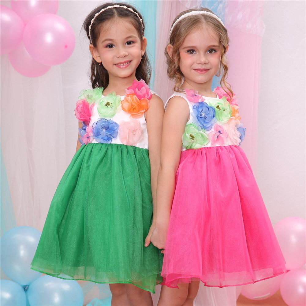 Los niños vestidos de fiesta para niñas, Caliente boda flor chica ...