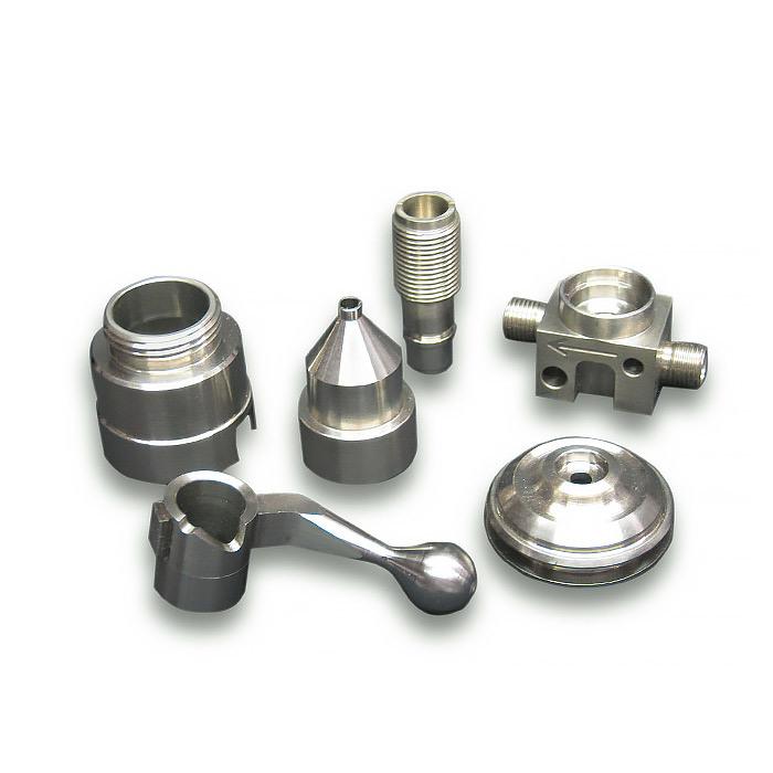 As peças de alumínio em automóveis