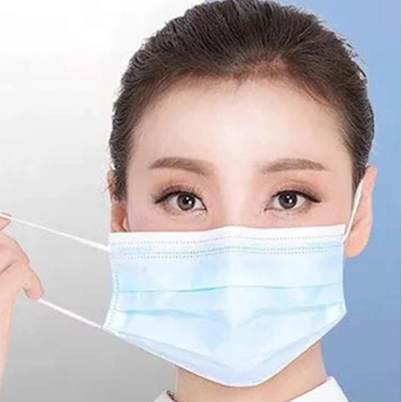 Tissu haute filtration Melt-Blown Non-Woven Personal Protective 3ply masque jetable
