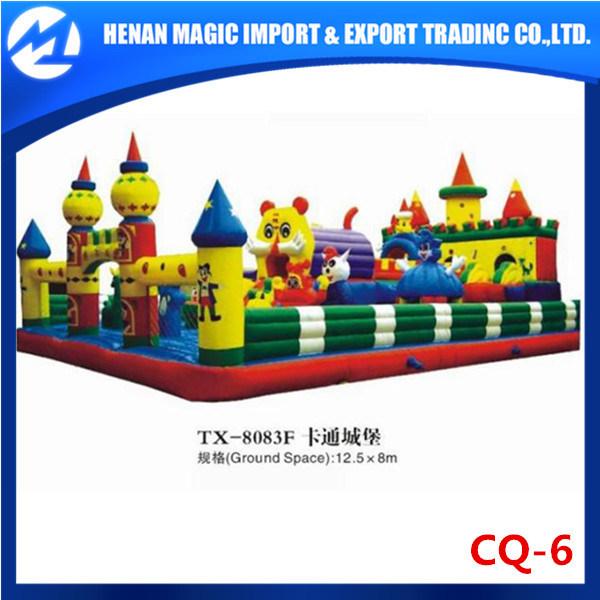 El castillo Hinchables PVC es de 0,5 mm Venta caliente