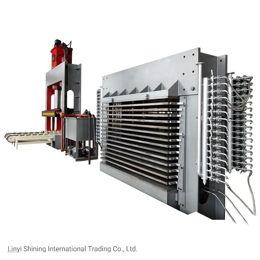 Melamin-Vorstand-heiße Presse-Maschine für MFC/MDF/Pb/HPL Produktion
