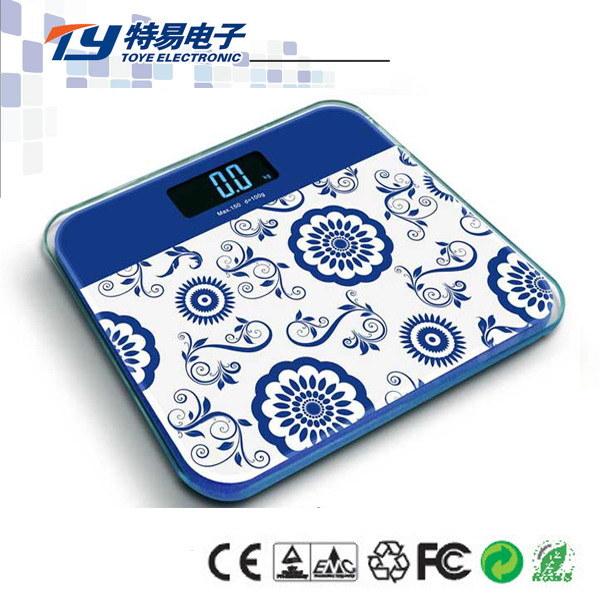 電子浴室のガラススケール(TY-2012A)