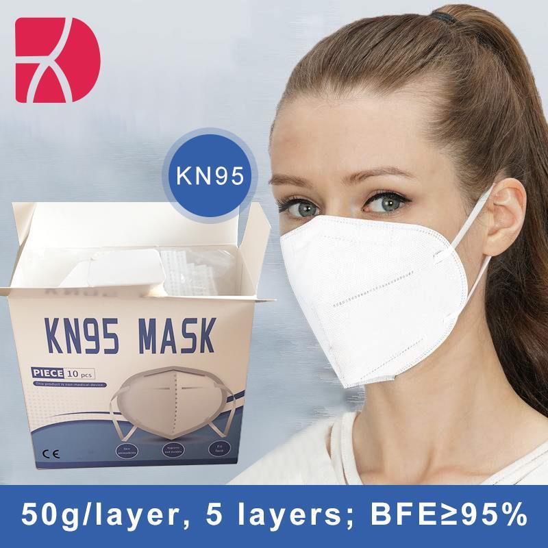 KN95/FFP2-beschermingsmasker voor het gezicht gecertificeerd