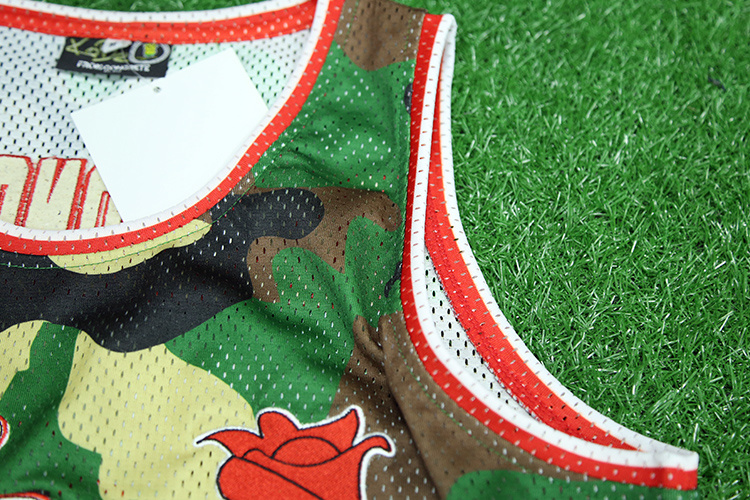 301cba6d70 100%Basquetebol Sublimação de poliéster Jersey Camisa Basquete barato  grossista personalizada