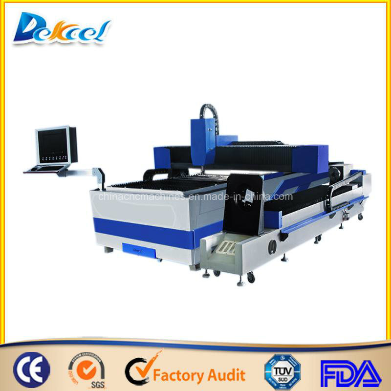 Máquina cortadora de fibra de tubo de SS/CS/Al 1000W láser equipos CNC