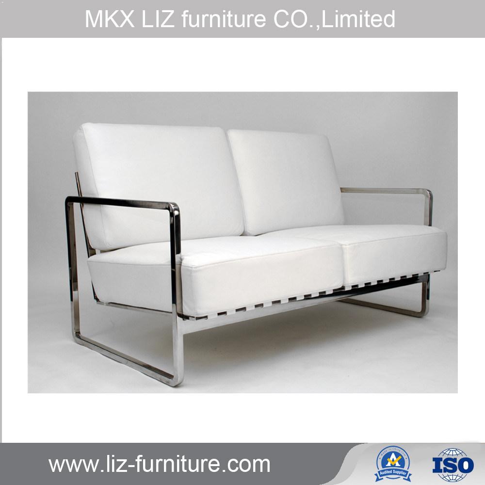 Moderne Barcelona Art Buro Leder Sofa Couch S1631 Foto Auf De Made