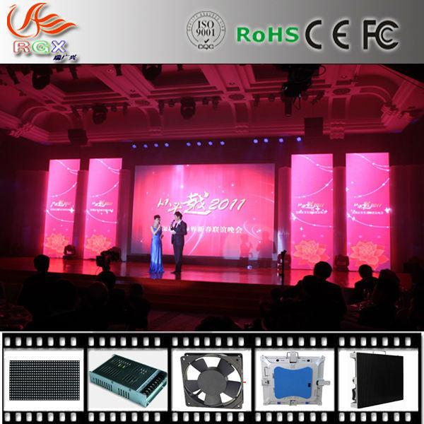 Rgx P5 à l'intérieur de la publicité pleine couleur Vidéo XXX à affichage LED XX X de l'écran du panneau