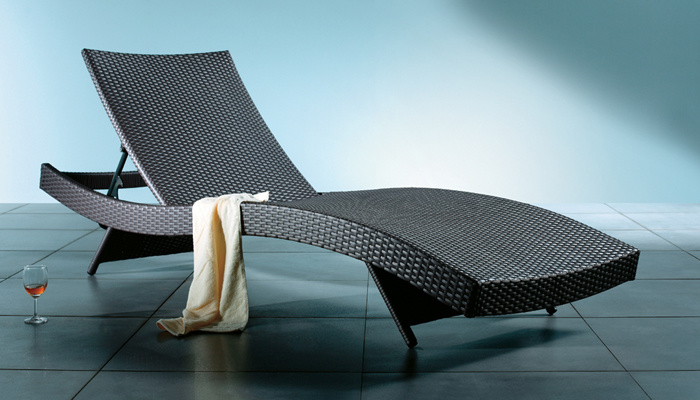 Ligstoel design gallery of paola lenti aqua wave ligstoel for Design ligstoel