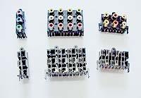 Conectores da Unidade para Equipamento de Som Automático