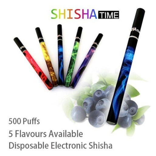 高品質の使い捨て電子タバコ、 E Hookah Shisha 様々な色