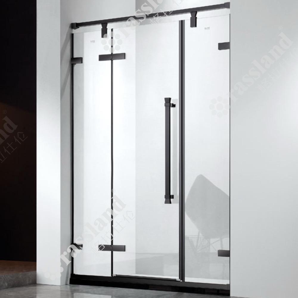 G03p21L Design recentemente roda suspensas, 304 aço inoxidável para duche sem enquadramento de vidro corrediço
