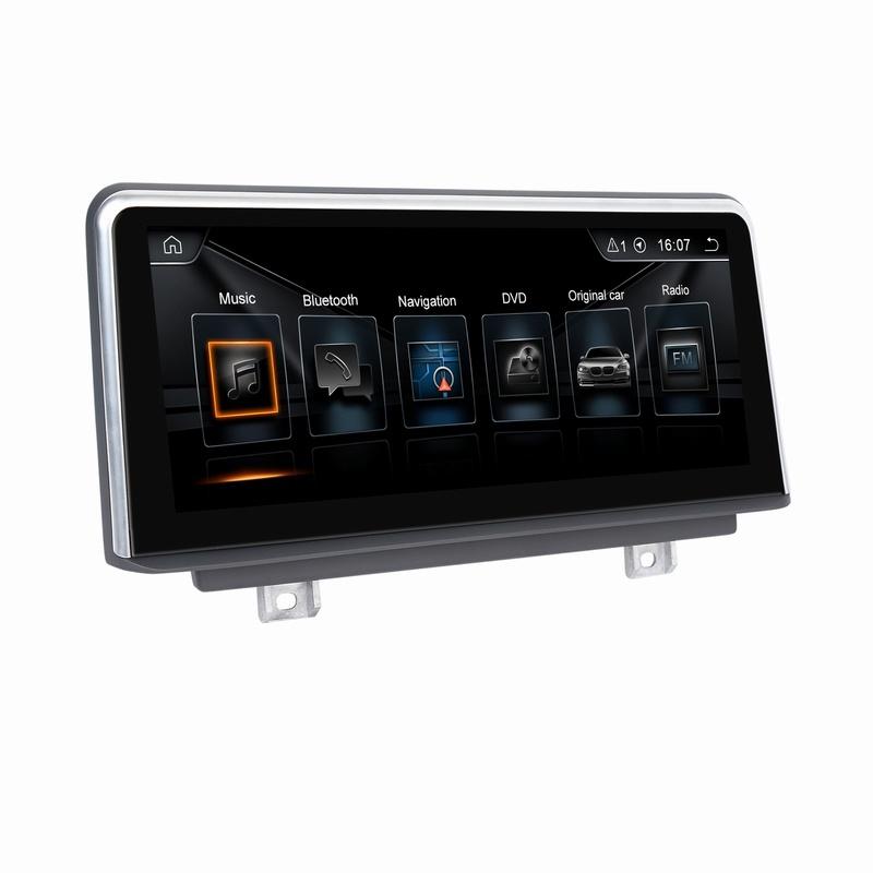 Android 8.1 автомобильной навигации GPS мультимедийный проигрыватель для BMW 1 серии F20 Nbt