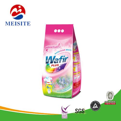 強いシーリングはハンドルデザインプラスチック粉末洗剤袋を型抜きした