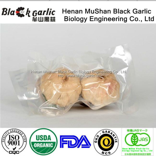 Comida saudável Alho Preto rico em vitaminas e a atividade da SOD 2xénon/Bag USD1,85/Bag