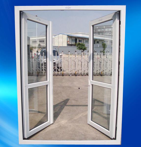 PVC/UPVC-Innentür mit doppeltem Öffnen
