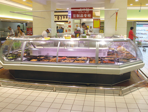 Supermercado sirven a más de Counter