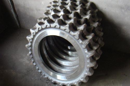 標準的な掘削機のスプロケット車輪