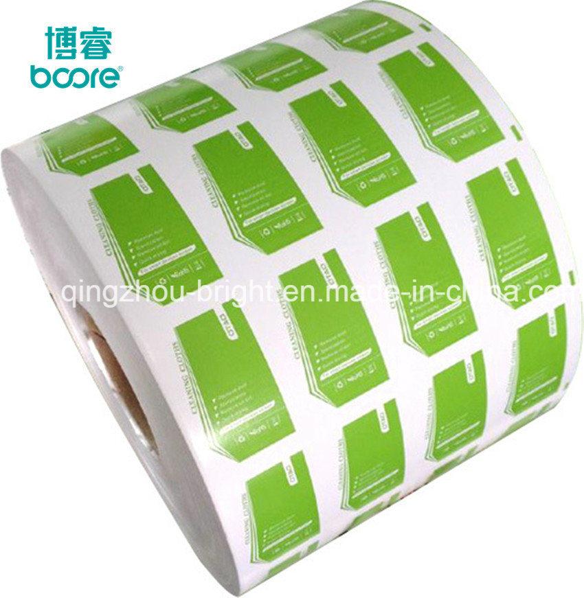 Foto de El papel de aluminio para pastillas de removedor de esmalte ...