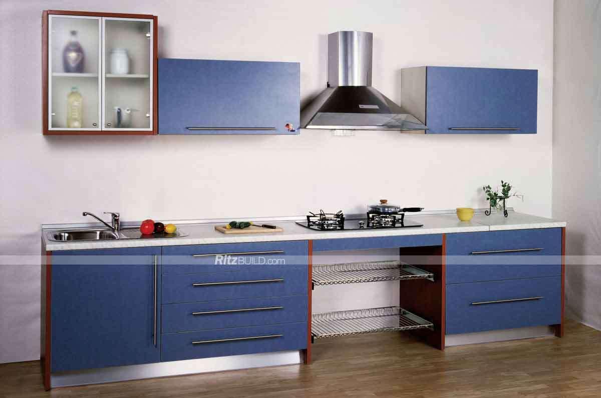 Muebles de cocina Muebles de madera, melamina y MDF moderna cocina ...