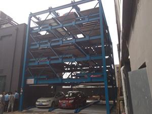 Puzzel Parking System 5-niveau