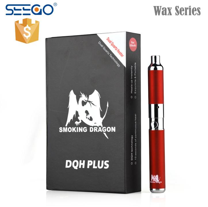 Los vapores de enorme dragón fumar Seego Vape Kit de lápiz de cera con Qdc