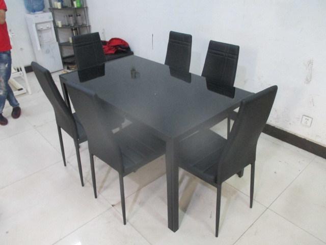 Vidrio baratos juegos de mesa de comedor – Vidrio baratos juegos de ...