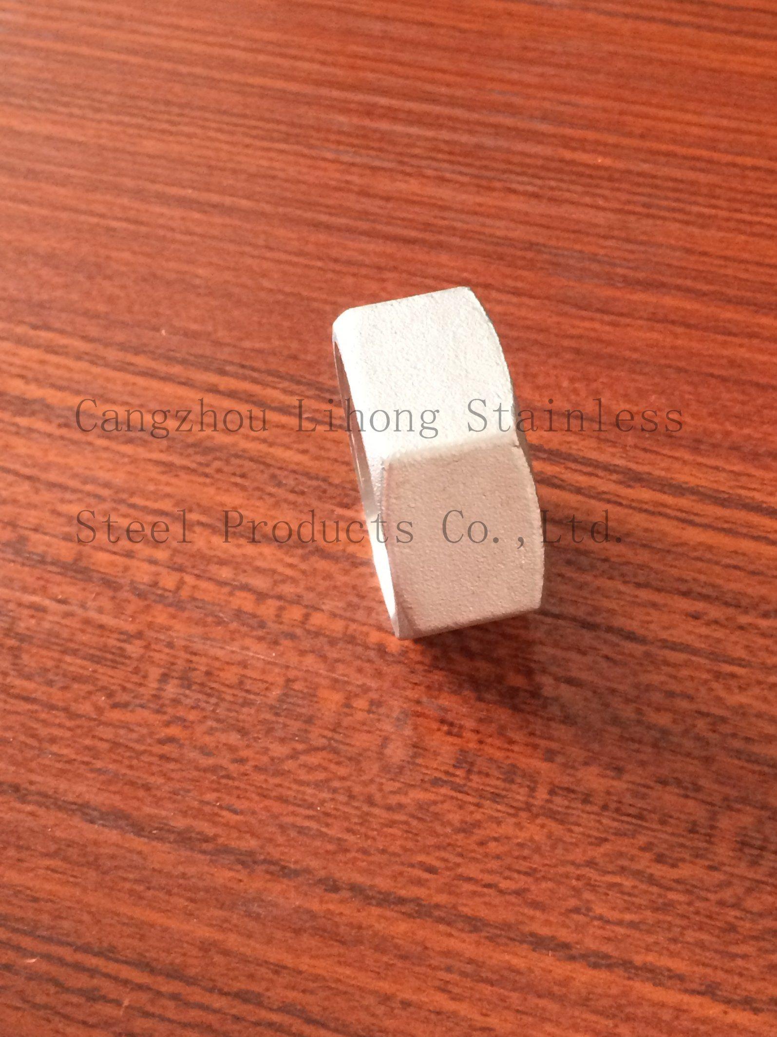 Dado esagonale raccordi tubi in acciaio inox DIN2999