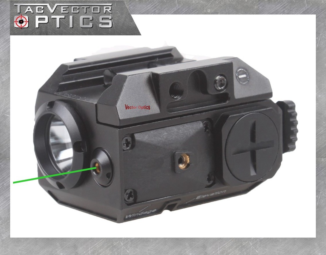 Taschenlampe mit Laser für Waffe Spielzeug-Bogen, -Armbrust & -Dart