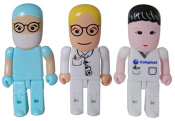Robot Shape USB, Doctor USB Drive, USB People