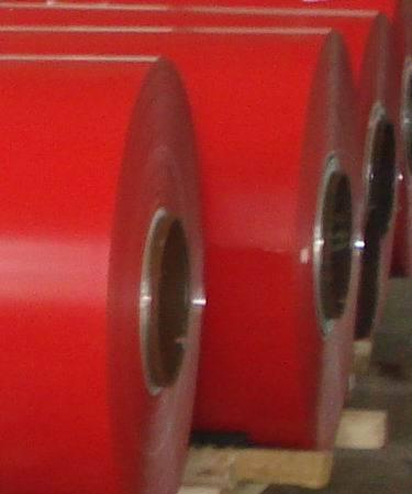 PE PVDF bobines en aluminium à revêtement de couleur des bobines en aluminium peint pour les toitures ou au plafond