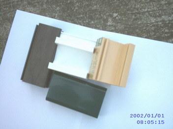 Perfil de PVC