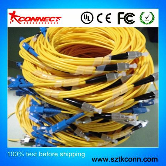 Sc/LC/FC/Conjunto de cables de fibra óptica ST