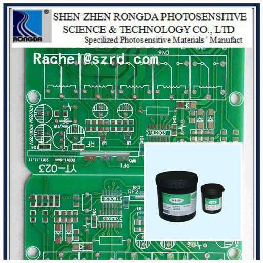 Soudure de vert brillant de résister à masque pour PCB Multi-Layers High-Precision H9100