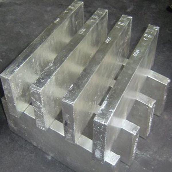 Les lingots d'alimentation d'usine de bismuth 99,99 %