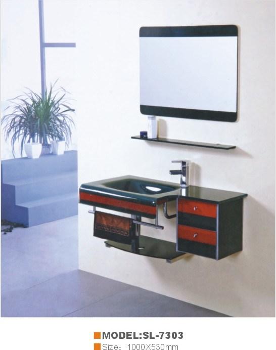 Lavatório de vidro (SL-7303)