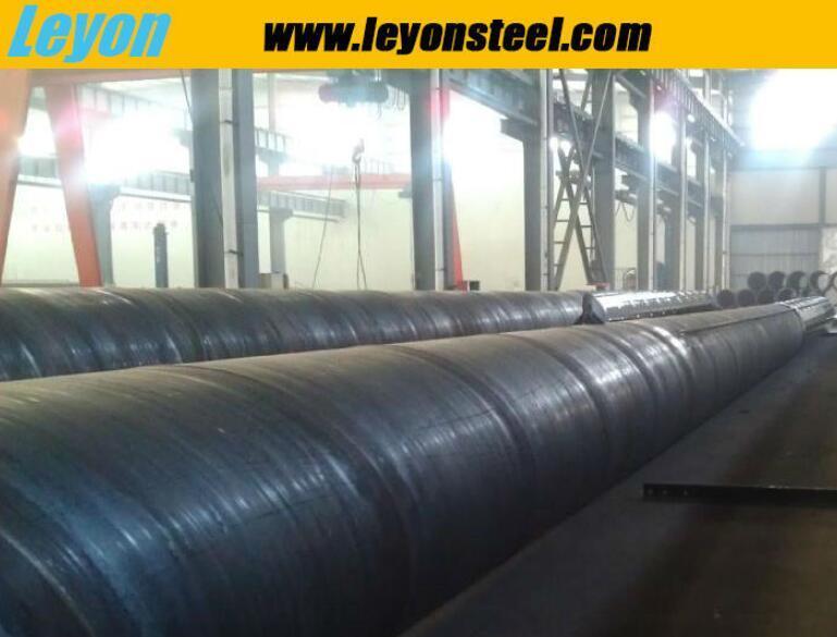 Comme l'acier 3678 250 Pile pour le port/Dock/Jetty Projets Prix Tuyau en acier inoxydable